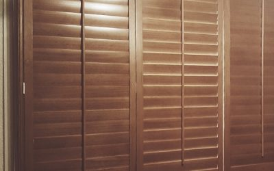 Recent Jobs: Natural wood finish of plantation shutters in Hexham